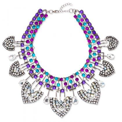 Multi Choker Statement Necklace